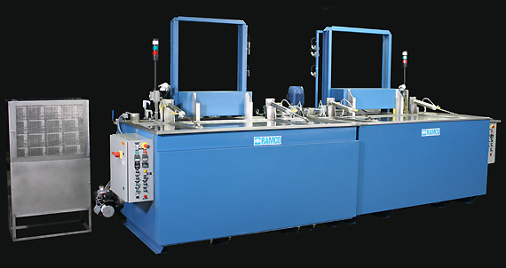 RAMCO Equipment CM Series Parts Washing Stages